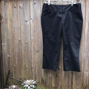 Black express Capri pants